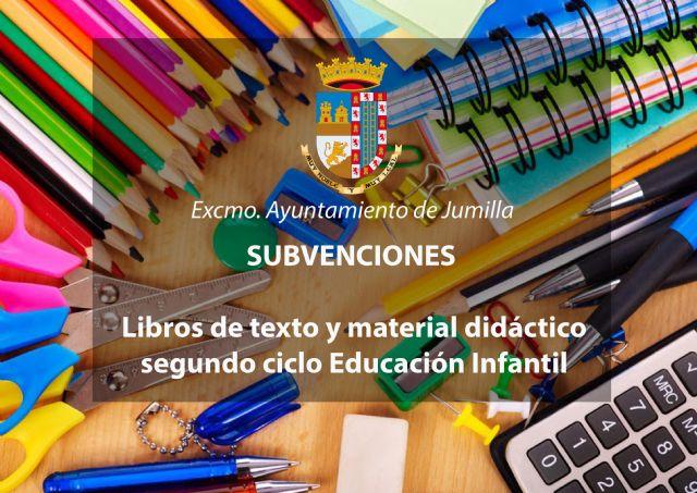 Concedidas 223 subvenciones para libros y material de segundo ciclo de Educación Infantil - 1, Foto 1