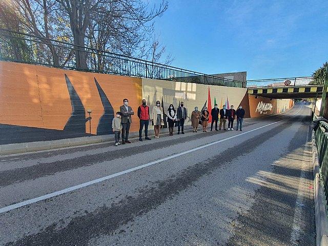 La Concejalía de Juventud pinta murales artísticos en Alguazas - 2, Foto 2