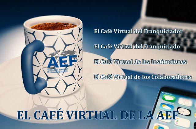 El 'Café de la AEF' se ha adaptado a la nueva realidad - 1, Foto 1