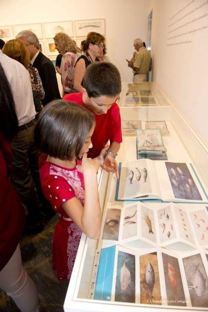 El Museo del Teatro Romano de Cartagena amplía hasta el 15 de febrero la exposición ´Peces´ de Pedro Cano - 1, Foto 1