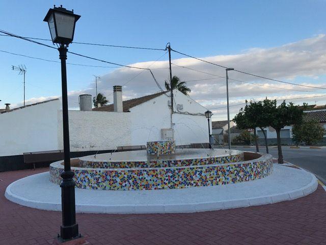 La fuente de Valladolises 'Virgen de la Arrixaca' ya luce como nueva - 1, Foto 1
