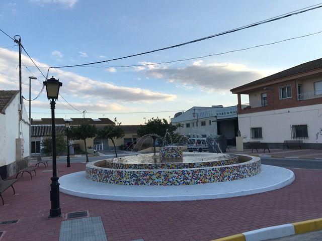 La fuente de Valladolises 'Virgen de la Arrixaca' ya luce como nueva - 2, Foto 2