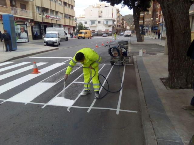 Mejora de la señalización horizontal en las calles del municipio - 1, Foto 1