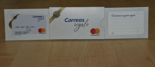 97d2dd5c76 CORREOS aumenta su oferta de productos y servicios con la tarjeta Correos  Regalo - 1,
