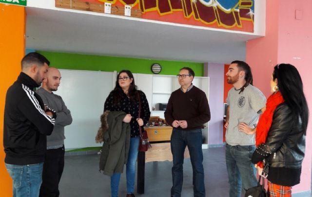 Los concejales de Juventud y Participación Ciudadana se reúnen con el nuevo colectivo juvenil