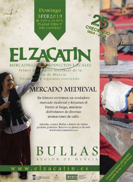El Zacatín revive la Edad Media en el primer domingo de Febrero - 1, Foto 1