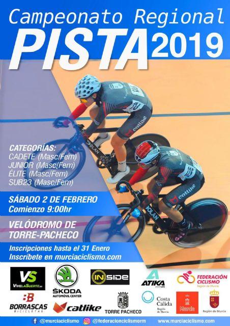 El Campeonato Regional de Pista 2019 se celebra en Torre Pacheco - 2, Foto 2