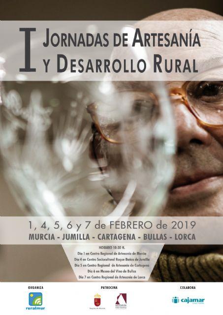 Bullas será una de las sedes de las I Jornadas de Artesanía y Desarrollo Rural - 1, Foto 1