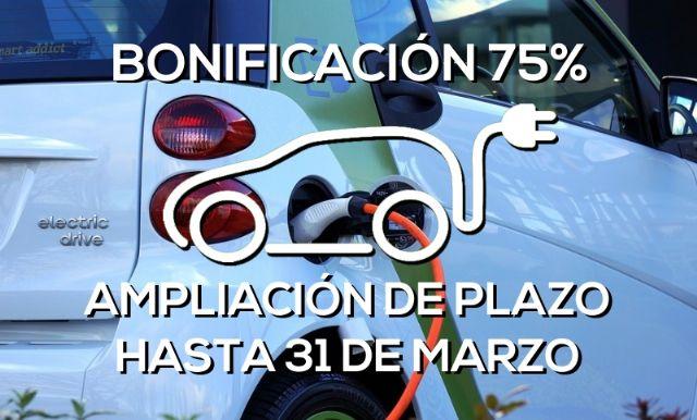 Los propietarios de vehículos eléctricos podrán solicitar la bonificación del 75% del hasta el 31 de marzo, Foto 1