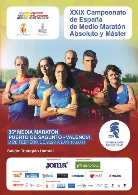 11 de los nuestros, a por el Nacional de Medio Maratón Absoluto y Máster - 1, Foto 1