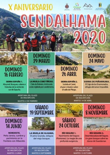 Sendalhama 2020 saldrá fuera de la Región de Murcia por su 10° aniversario - 2, Foto 2