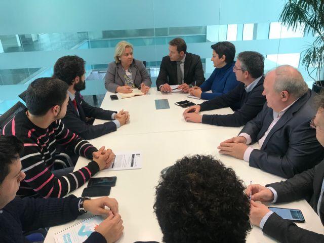 El alcalde de Torre Pacheco recibió en el Ayuntamiento a la presidenta de COEC Cartagena - 2, Foto 2