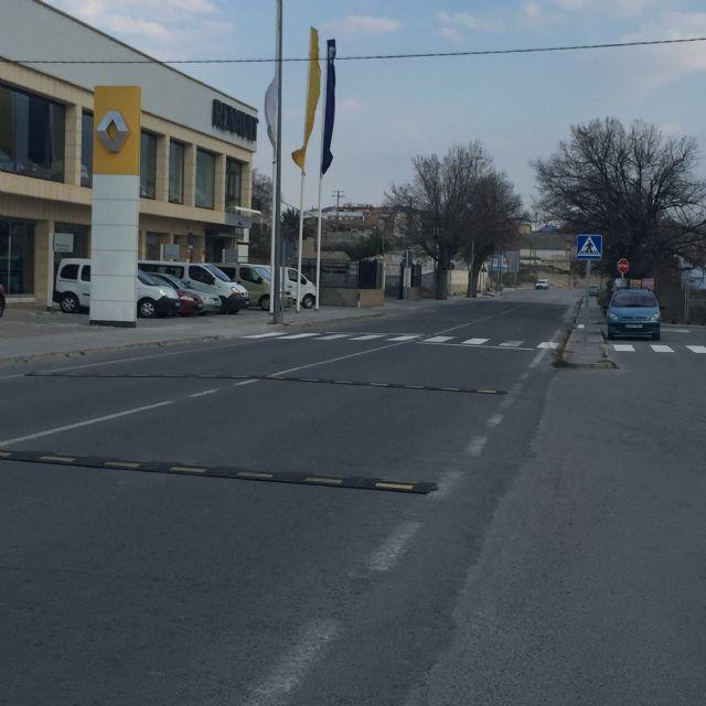 La concejalía de trafico regula el transito peatonal de escolares y vecinos en cañada de la horta - 1, Foto 1