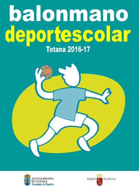 La Fase Local de Balonmano Alevín de Deporte Escolar finaliza el próximo viernes con la entrega de trofeos
