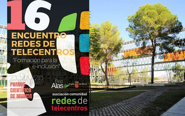 Torre-Pacheco participa en el 16 encuentro redes de telecentros Formación para la e-inclusión - 1, Foto 1