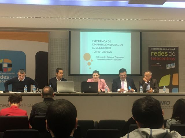 Torre-Pacheco participa en el 16 encuentro redes de telecentros Formación para la e-inclusión - 2, Foto 2