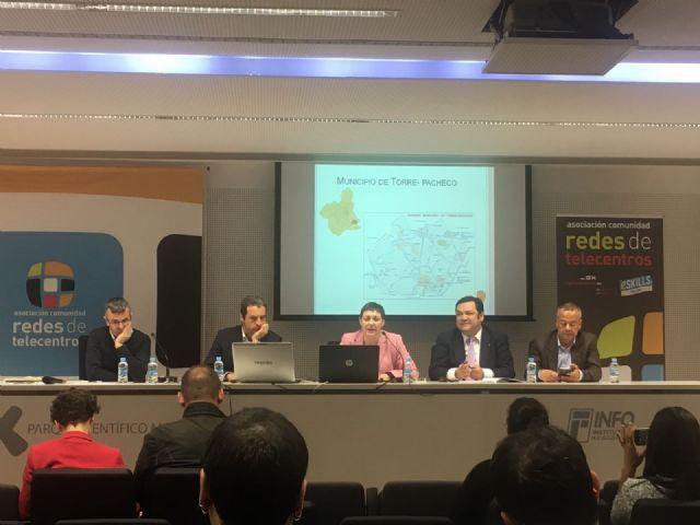 Torre-Pacheco participa en el 16 encuentro redes de telecentros Formación para la e-inclusión - 3, Foto 3
