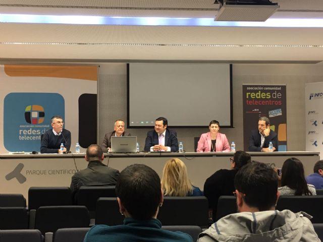 Torre-Pacheco participa en el 16 encuentro redes de telecentros Formación para la e-inclusión - 4, Foto 4