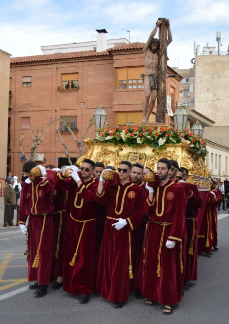La procesión del Calvario abre el Viernes Santo, que esta noche contará con el desfile del Santo Entierro de Cristo - 4, Foto 4