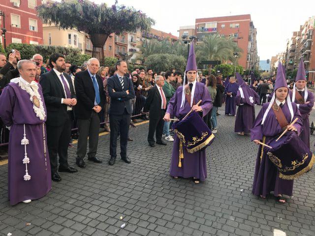 Fernando López Miras asiste a la procesión de Los Salzillos en Murcia - 2, Foto 2
