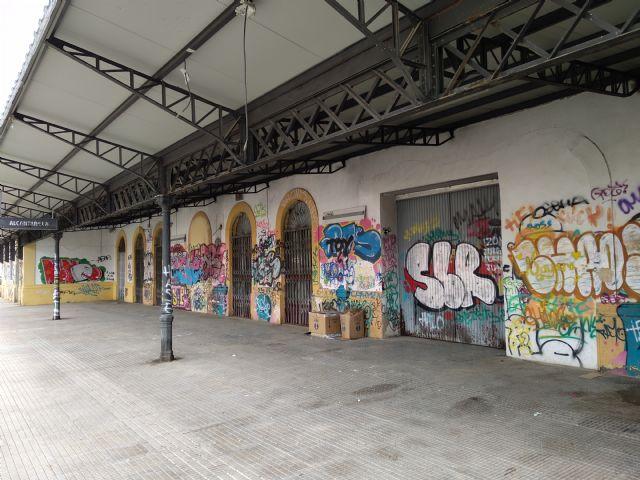 El PSOE solicita al PP un informe sobre las actuaciones realizadas con ADIF para la recuperación y rehabilitación de la estación de tren de Alcantarilla-Villa - 2, Foto 2