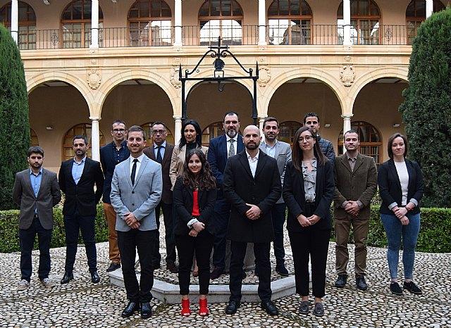 La primera Junta de Gobierno del Colegio Profesional de Criminología de la Región de Murcia toma posesión de sus cargos - 1, Foto 1