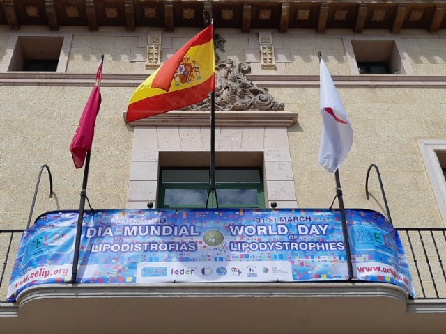 The City Council adheres to the World Day of Lipodystrophies that is celebrated tomorrow March 31 with the placement of a commemorative banner