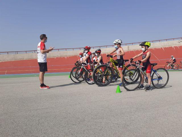 La Federación de Triatlón de la Región de Murcia celebra su I Concentración de Escuelas de Menores - 4, Foto 4