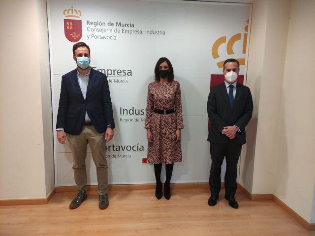 Valle Miguélez se reúne con los jóvenes empresarios de la Región de Murcia - 1, Foto 1