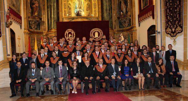 La UCAM celebra la graduación de su V promoción de estudiantes de Teleco e Informática - 1, Foto 1