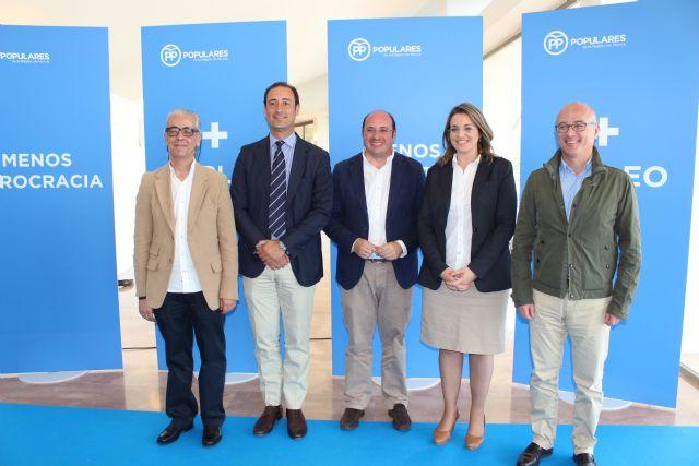 Pedro Antonio Sánchez: El PP es la garantía para que se cree empleo de calidad y de más dignidad - 1, Foto 1