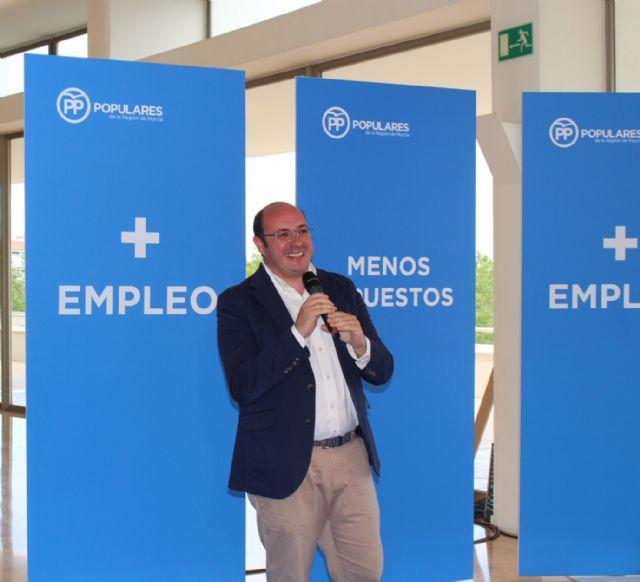 Pedro Antonio Sánchez: El PP es la garantía para que se cree empleo de calidad y de más dignidad - 3, Foto 3