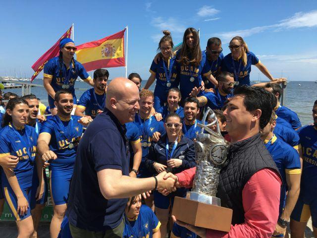 La UCAM gana el 17 Campeonato Náutico Interuniversidades en Santiago de la Ribera - 1, Foto 1