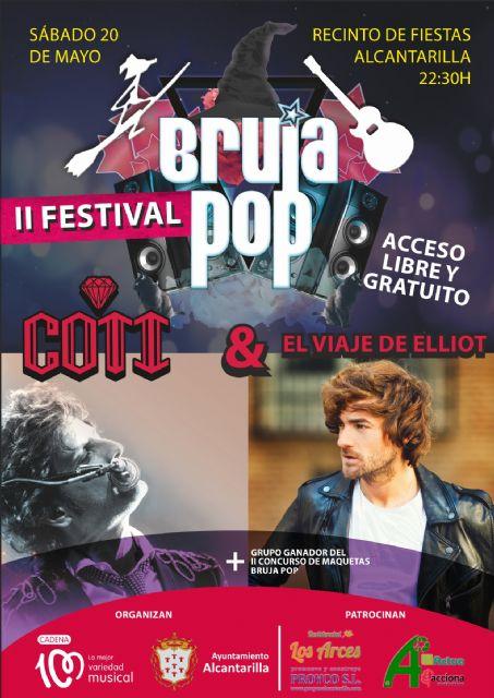 Ya se conocen los conciertos y las actuaciones musicales de las Fiestas de Mayo de Alcantarilla - 3, Foto 3