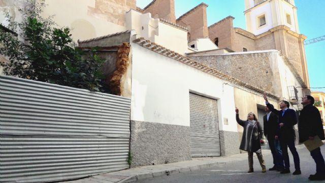 El Ejecutivo Municipal aprobará el proyecto de expropiación de los terrenos necesarios para la construcción de un área de esparcimiento y ocio junto a la Iglesia de Santiago - 1, Foto 1