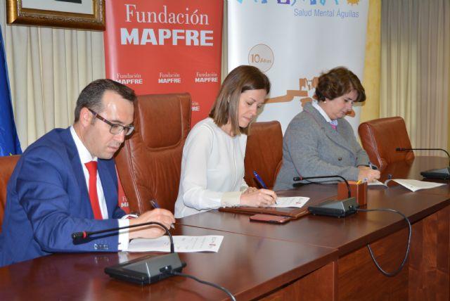 El Ayuntamiento de Águilas, Mapfre y Afemac renuevan el convenio de inserción laboral de jóvenes con discapacidad intelectual y enfermedad mental - 2, Foto 2
