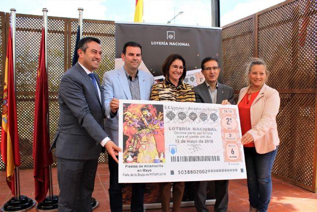 Las Fiestas de Alcantarilla en Mayo protagonizan el décimo de Lotería Nacional del 12 de mayo - 3, Foto 3