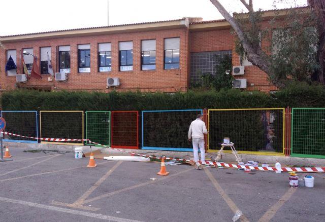 Continúan los trabajos municipales de mantenimiento de colegios en Las Torres de Cotillas - 4, Foto 4