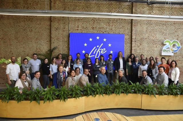 El proyecto LIFE AMDRYC4, que coordina la UMU, participa en la reunión nacional de investigaciones de adaptación al cambio climático financiadas por la UE - 1, Foto 1