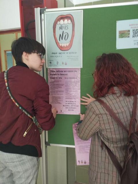 Campaña contra las agresiones y/o abusos sexuales durante las fiestas de San Marcos - 2, Foto 2