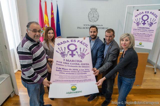 La Aljorra celebra este domingo la I Marcha Contra la Violencia de Género - 1, Foto 1