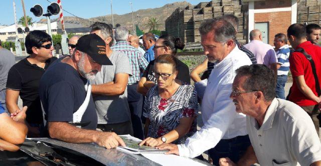 El PP exige al Ministerio que se comprometa en firme a soterrar los pasos de Tercia y Villaespesa antes de expropiar a los damnificados - 1, Foto 1