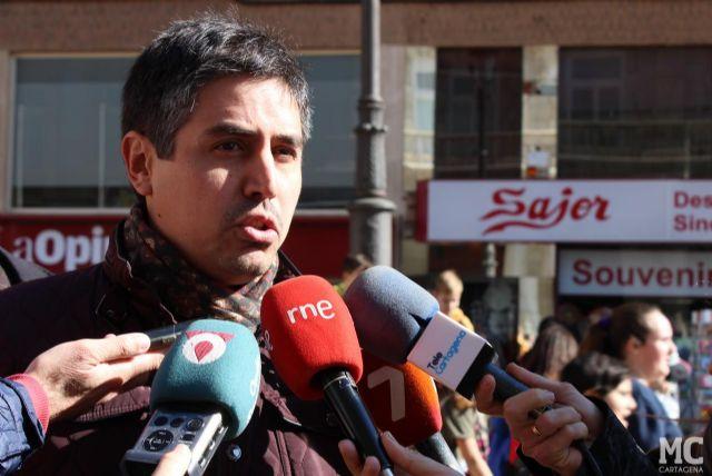 Avanza la iniciativa de MC para la repavimentación de la Alameda San Antón a pesar de la desidia socialista - 1, Foto 1