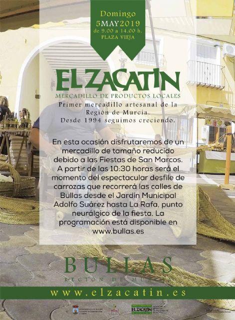 El mercadillo de 'El Zacatín' centra su actividad en el esparto - 1, Foto 1