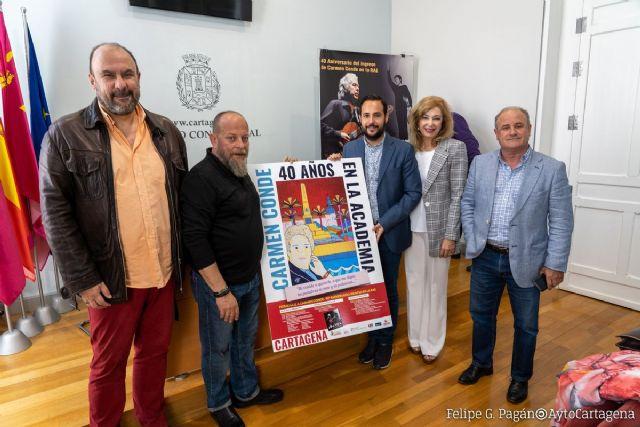 Cartagena celebra el 40 aniversario del ingreso de Carmen Conde en la RAE - 1, Foto 1