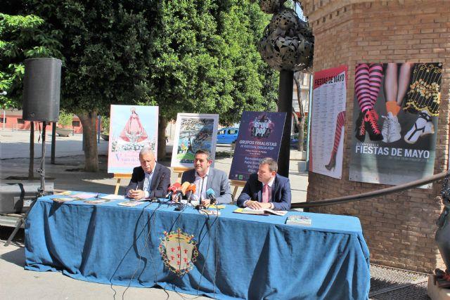 Las Fiestas de Mayo de Alcantarilla se presentaron en el día de hoy - 1, Foto 1