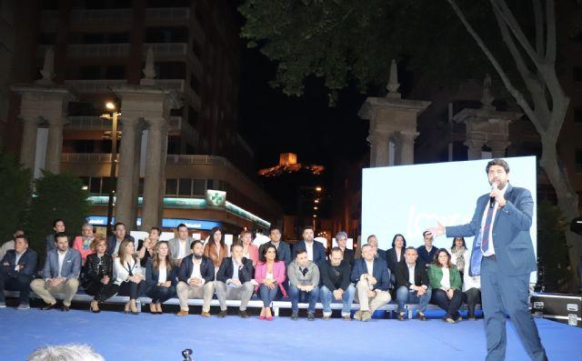 López Miras asiste a la presentación de la candidatura de Lorca y alerta sobre la división del voto: Solo favorece a la izquierda - 1, Foto 1