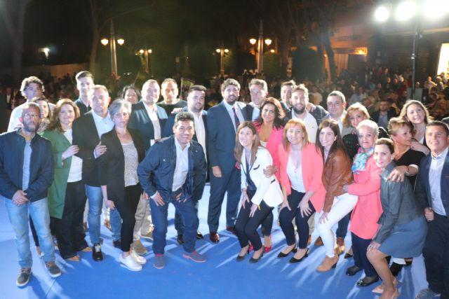 López Miras asiste a la presentación de la candidatura de Lorca y alerta sobre la división del voto: Solo favorece a la izquierda - 2, Foto 2
