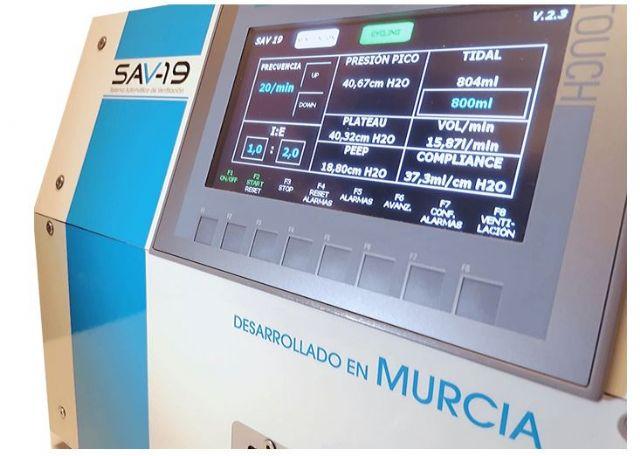 ADIMUR participa en el desarrollo del respirador murciano SAV-19 ante la crisis mundial del Covid-19 - 2, Foto 2