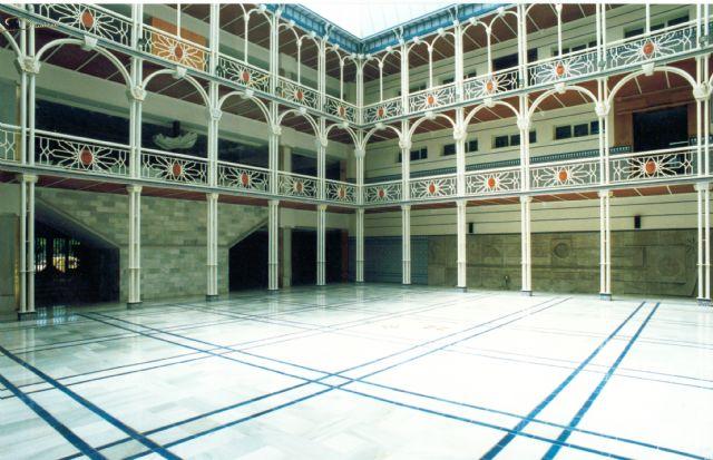 La Asamblea Regional adaptará el Patio de los Ayuntamientos como salón de plenos, con el objetivo de facilitar la participación de todos los diputados - 2, Foto 2